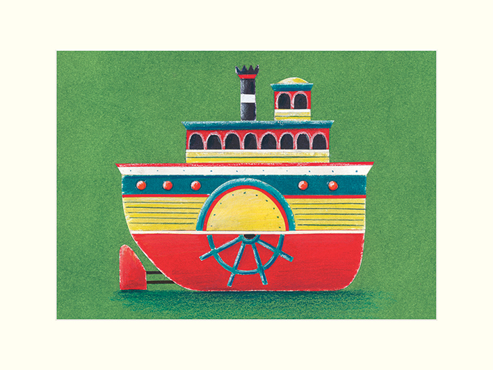 Simon Hart (Mississippi Steam Boat) Mounted Prints