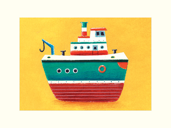 Simon Hart (Tug Boat) Mounted Prints