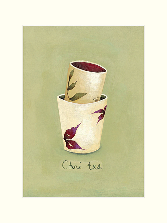 Nicola Evans (Chai Tea) Mounted Prints