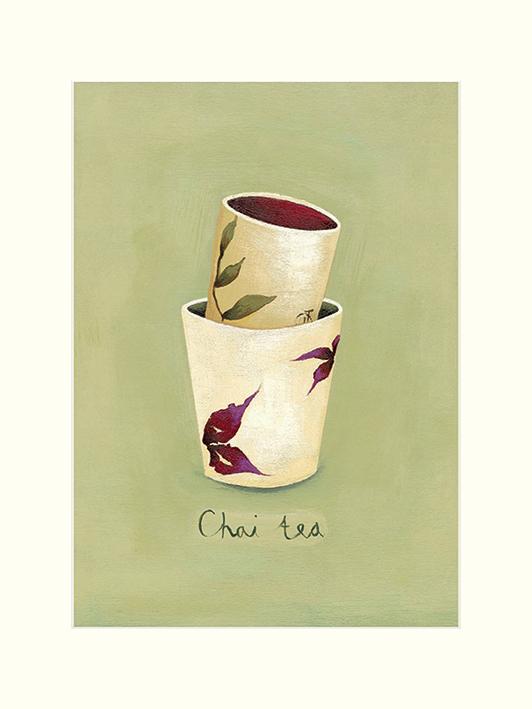 Nicola Evans (Chai Tea) Mounted Print