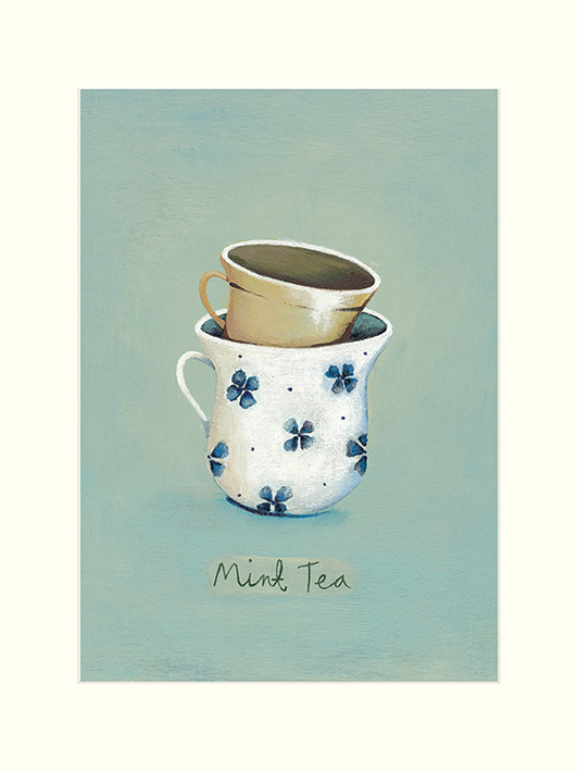 Nicola Evans (Mint Tea) Mounted Print