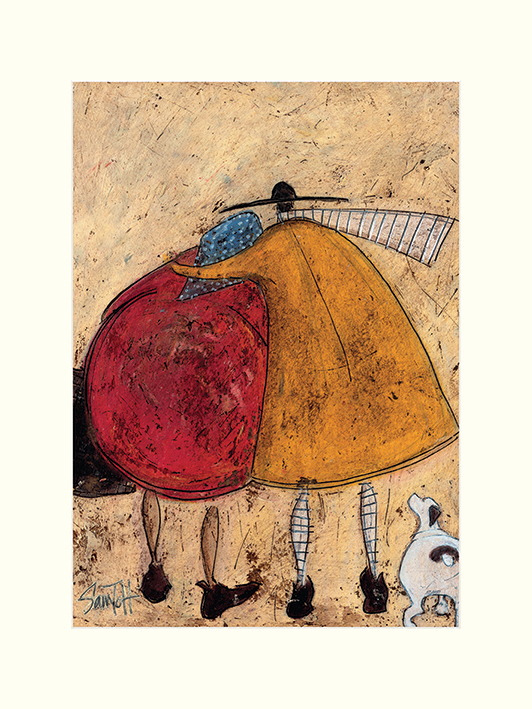 Sam Toft (Hugs On The Way Home) Mounted Prints