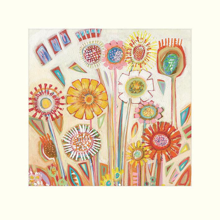 Shyama Ruffell (Sunny Flowers) Mounted Prints