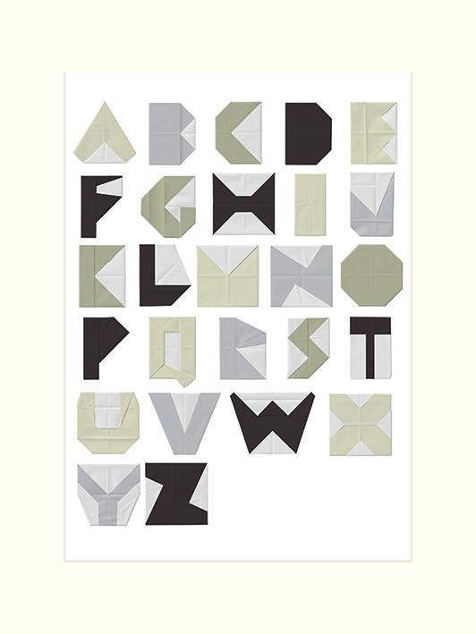 Trent Siddharta (Alphabet Blocks) Mounted Print