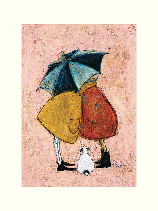 Sam Toft (A Sneaky One) Mounted Print