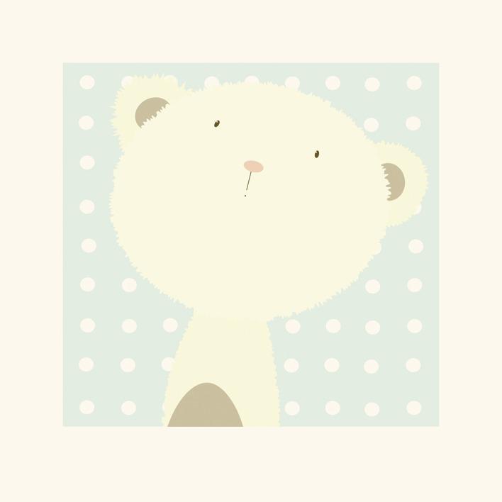 Nicola Evans (Baby Boo Bear) Mounted Print