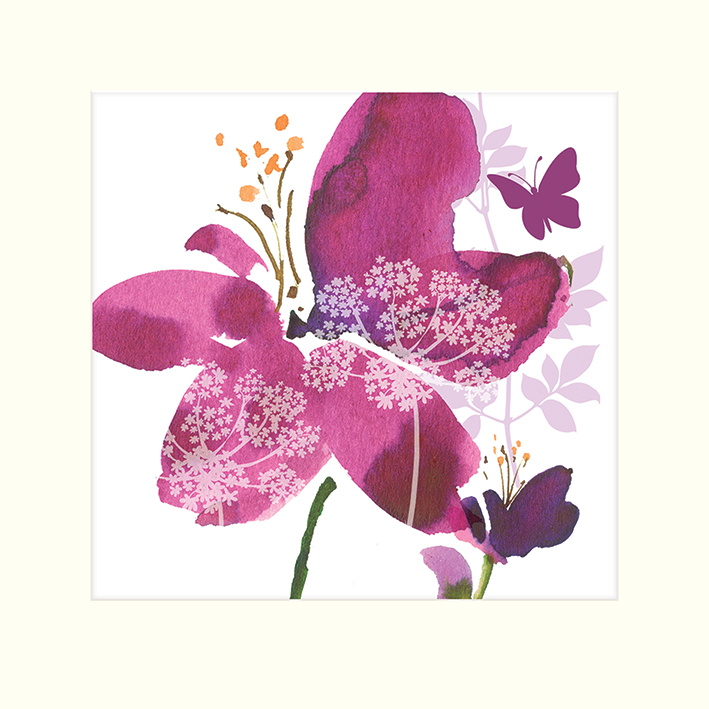 Summer Thornton (Wild Bloom) Mounted Print