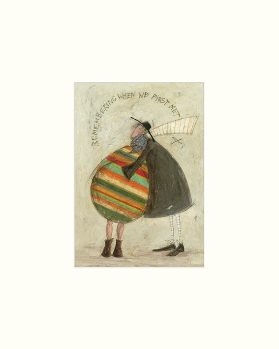 Sam Toft (Remembering When We First Met) Mounted Prints