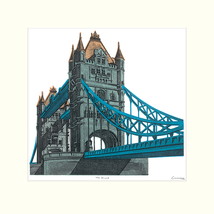 Barry Goodman (The Bridge) Mounted Prints