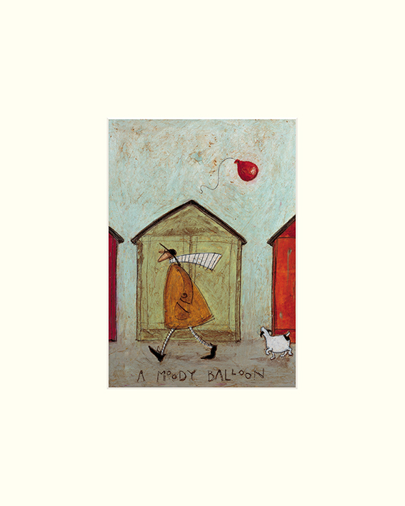 Sam Toft (A Moody Balloon) Mounted Print