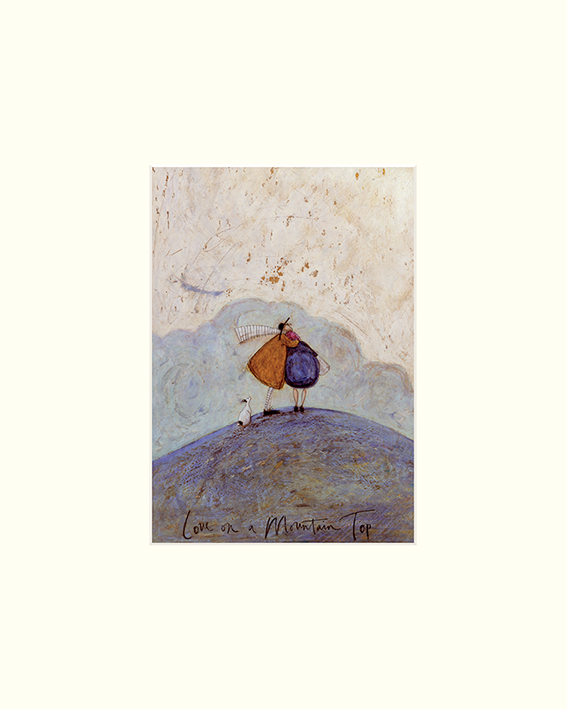 Sam Toft (Love on a Mountain Top) Mounted Prints