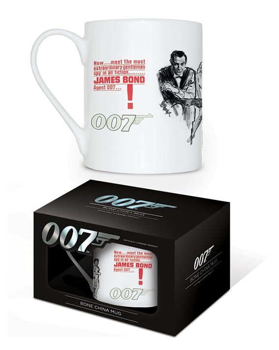 James Bond (Dr No) Bone China Mugs