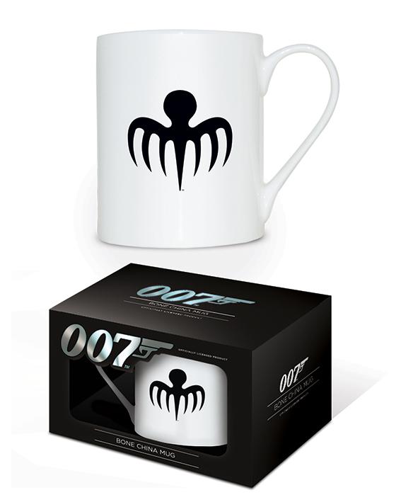 James Bond (Spectre Octopus Logo) Bone China Mugs
