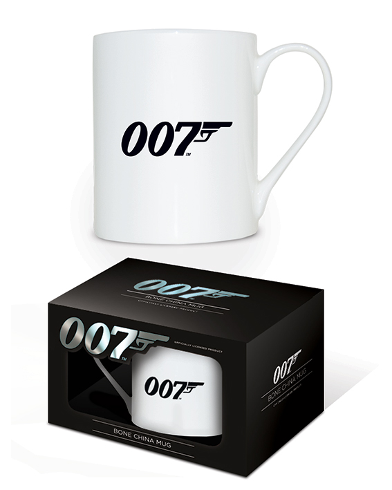 James Bond (007 Logo) Bone China Mugs
