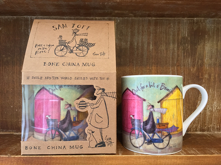 Sam Toft (Out for a bit o' Brunch) China Mugs