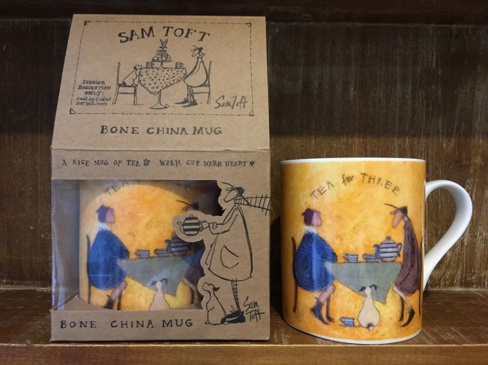 Sam Toft (Tea for Two Tea for Three) Bone China Mugs