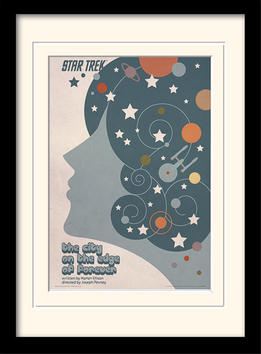 Star Trek (The City On The Edge Of Forever) Mounted & Framed 30 x 40cm Print