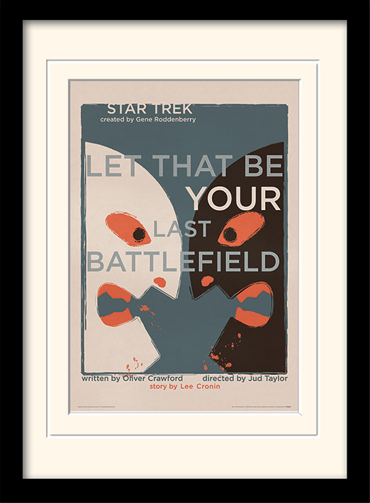 Star Trek (Let That Be Your Last Battlefield) Memorabilia