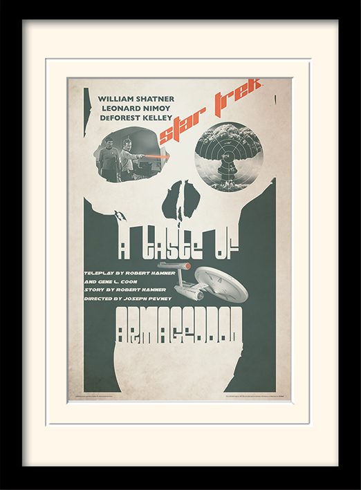 Star Trek (A Taste Of Armageddon) Memorabilia
