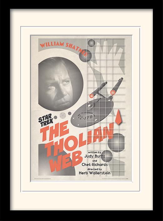 Star Trek (The Tholian Web) Mounted & Framed 30 x 40cm Prints