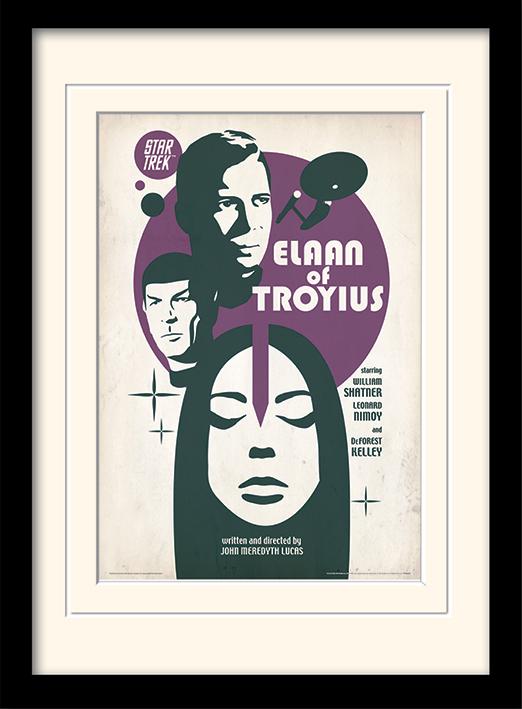 Star Trek (Elaan Of Troyius) Mounted & Framed 30 x 40cm Prints