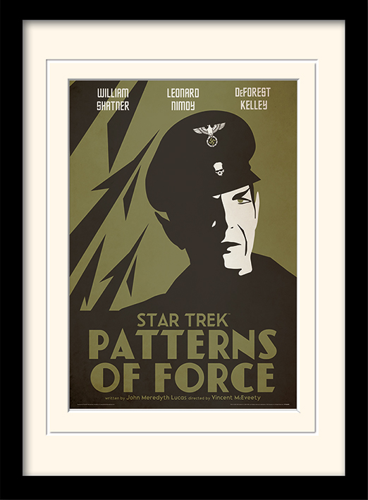 Star Trek (Patterns Of Force) Memorabilia