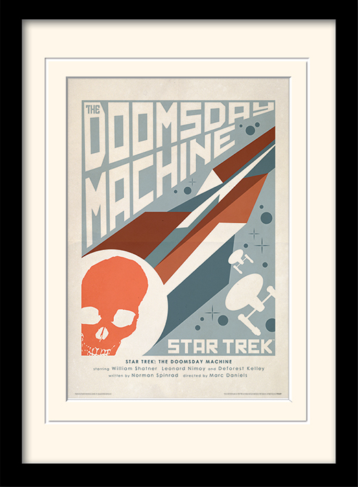 Star Trek (The Doomsday Machine) Mounted & Framed 30 x 40cm Prints