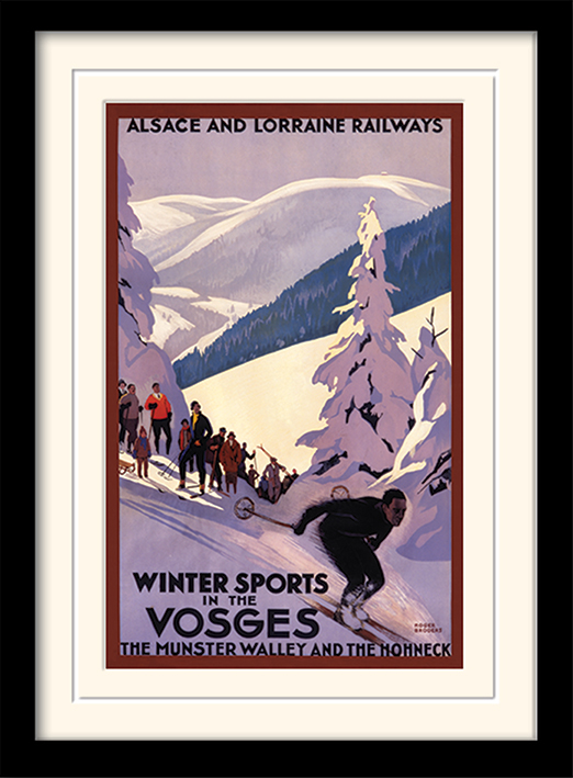 Winter Sports In The Vosges Memorabilia