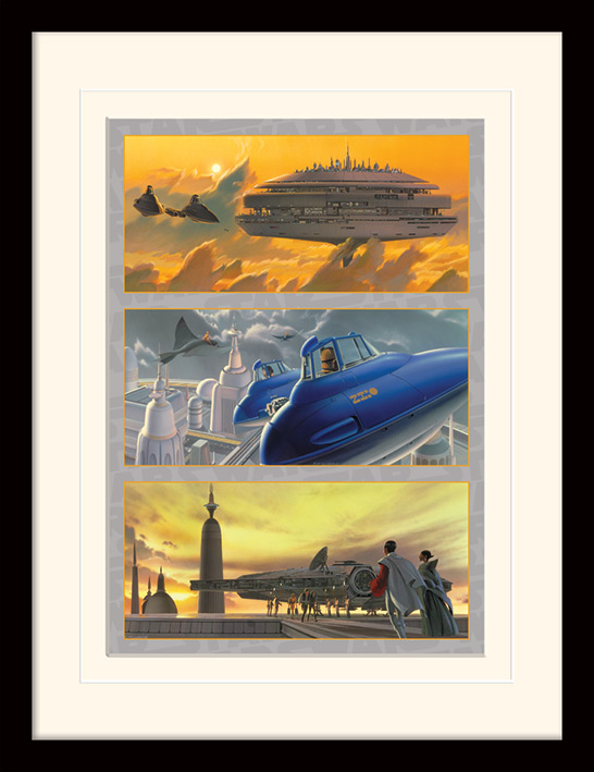 Star Wars (Arrival at Cloud City) Memorabilia