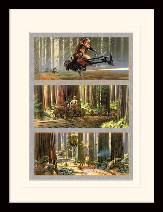 Star Wars (Action on Endor\'s Moon) Memorabilia
