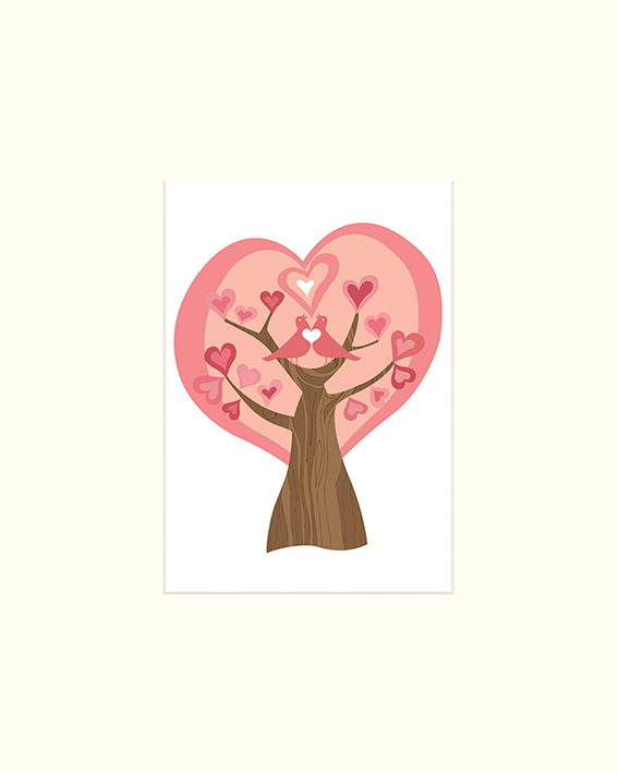 Valentina Ramos (Tree of Love) Mounted Print