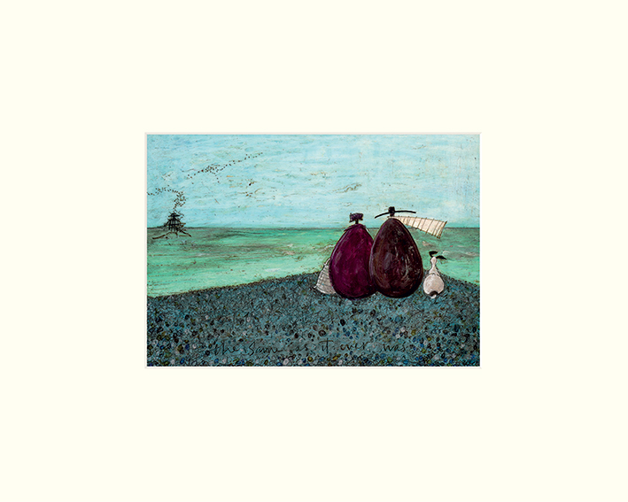Sam Toft (The Same as it Ever Was) Mounted Prints