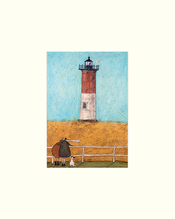 Sam Toft (Feeling the Love at Nauset Light) Mounted Prints