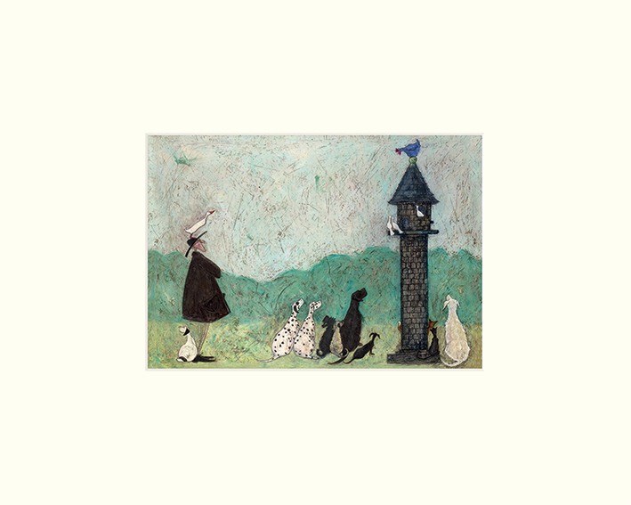 Sam Toft (An Audience with Sweetheart) Mounted Prints