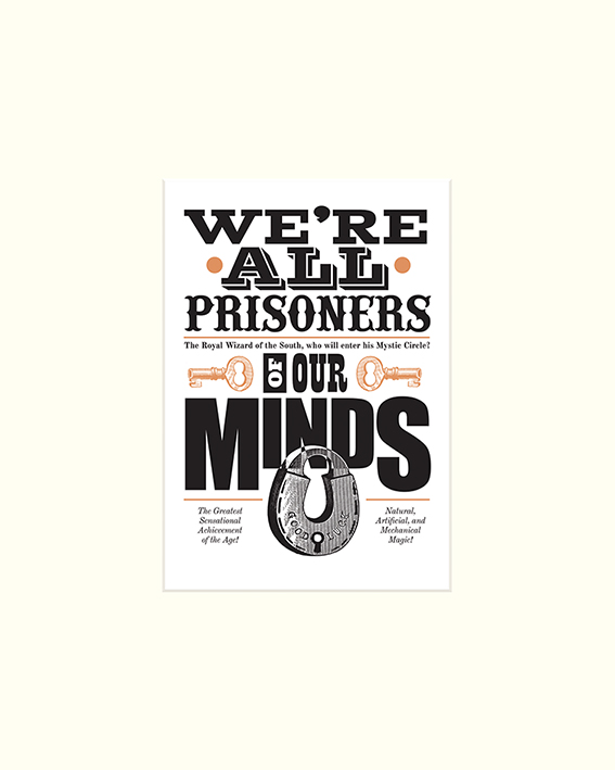 asintended (Prisoners Of Our Minds) Mounted Print