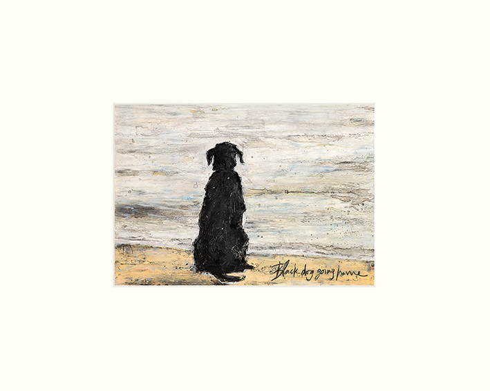 Sam Toft (Black Dog Going Home) Mounted Prints