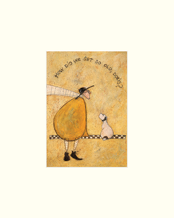 Sam Toft (How Did We Get So Old, Doris?) Mounted Prints