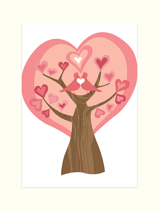 Valentina Ramos (Tree of Love) Mounted Print