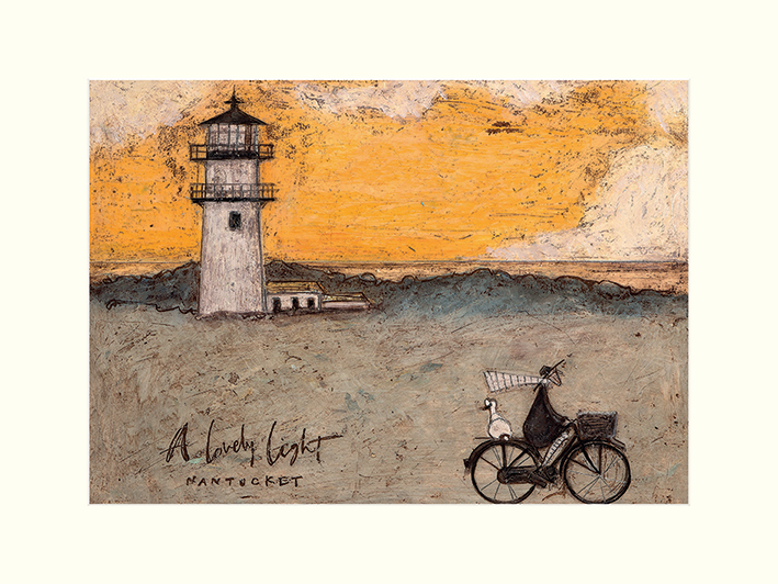 Sam Toft (A Lovely Light, Nantucket) Mounted Print