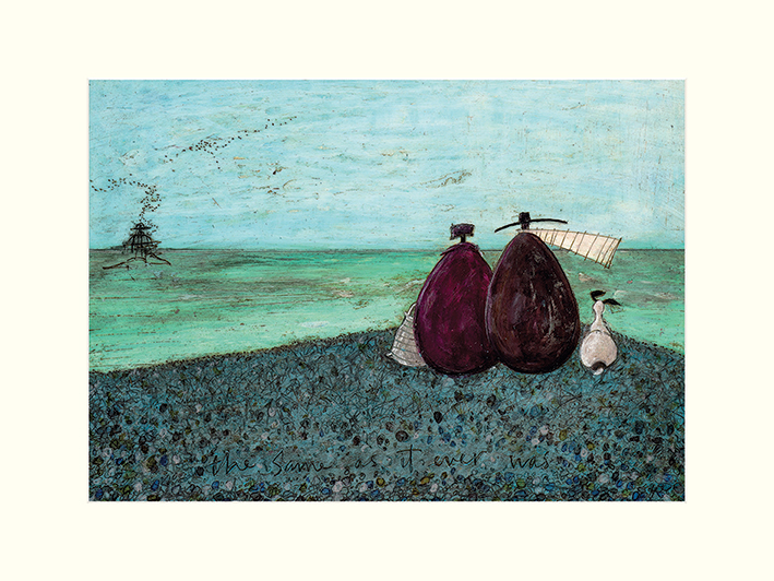 Sam Toft (The Same as it Ever Was) Mounted Print