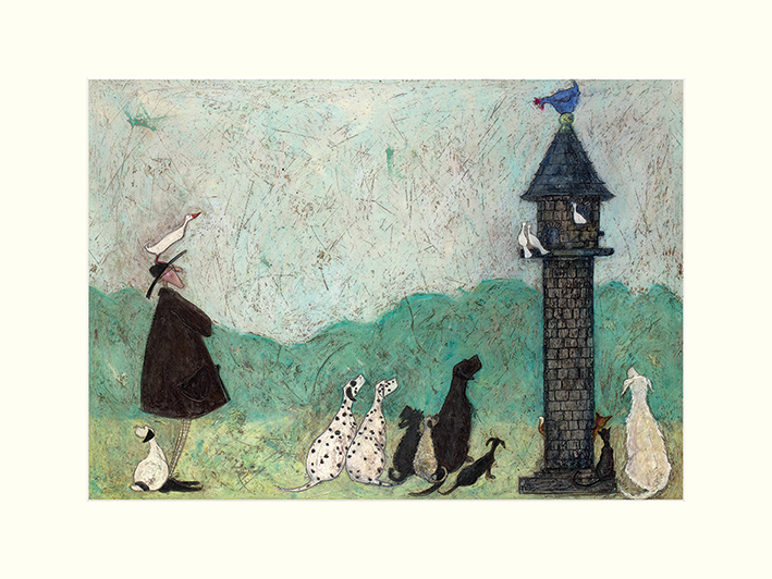 Sam Toft (An Audience with Sweetheart) Mounted Print