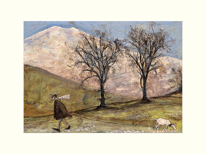 Sam Toft (Walking with Mansfield) Mounted Prints