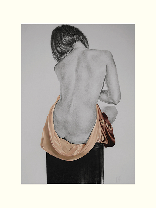T. Good (Silk In Mocha) Mounted Print