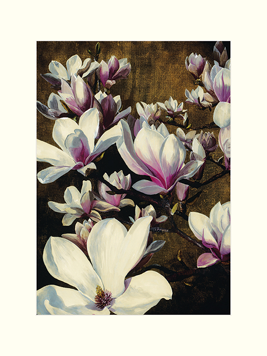 Sarah Caswell (Magnolia Silk) Mounted Print