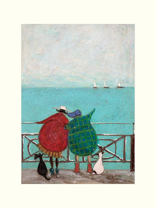 Sam Toft (We Saw Three Ships Come Sailing By) Mounted Print