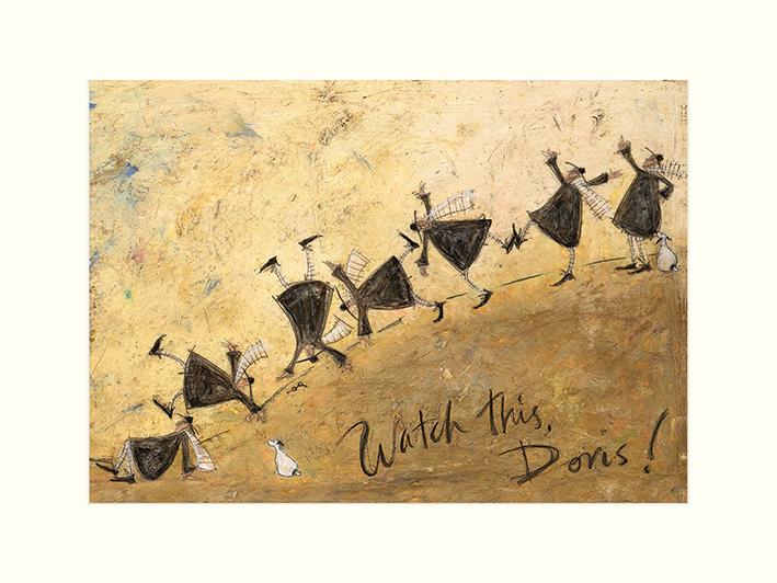 Sam Toft (Watch This, Doris!) Mounted Print