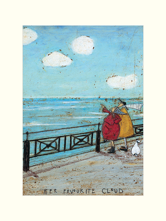 Sam Toft (Her Favourite Cloud) Mounted Print