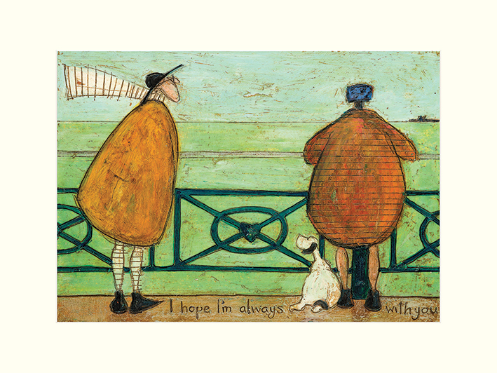 Sam Toft (I Hope I'm Always with You) Mounted Print