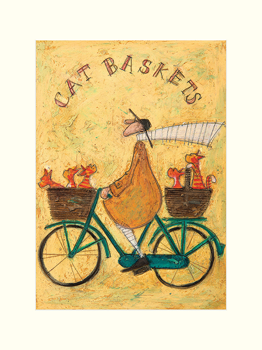 Sam Toft (Cat Baskets) Mounted Prints