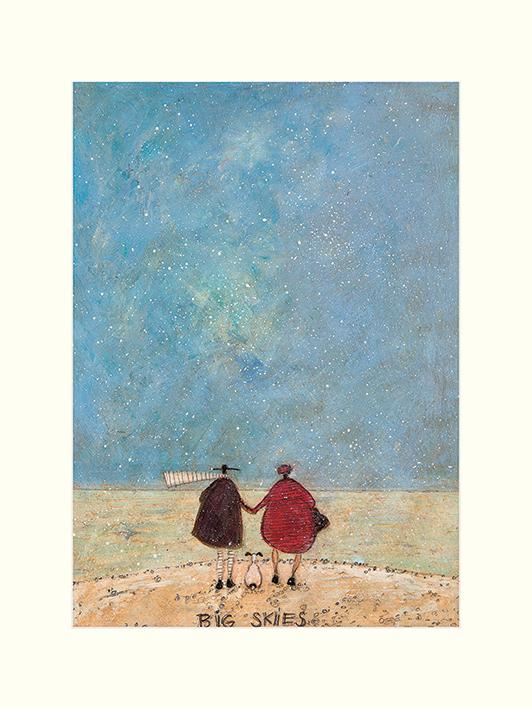 Sam Toft (Big Skies) Mounted Print